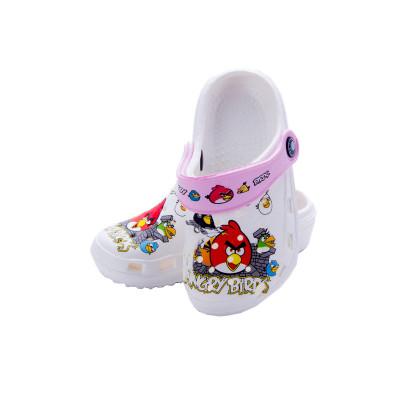 男女中大童兒童洞洞鞋涼鞋拖鞋套腳鞋夏季室外防滑寶寶
