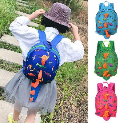 卡通防走失兒童書包韓版幼兒園3歲4歲5歲男女寶寶背包可愛恐龍包