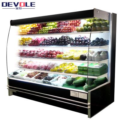 致烈(Devole)1米风幕柜 水果保鲜柜超市商用冰柜饮料柜展示柜保鲜柜蔬菜冷藏柜点菜柜卧式冷柜熟食柜