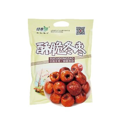 绿香源酥脆冬枣优质干枣180g无核脆枣山东特产大枣子甜枣