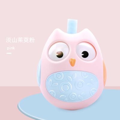 邦娃良品嬰兒不倒翁玩具3-6-12個月寶寶0-1歲早教益智點頭娃娃顏色隨機