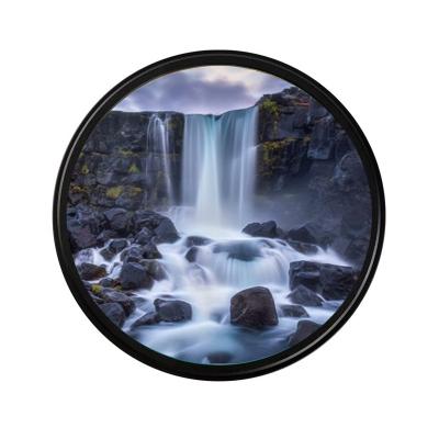 德國肖特玻璃77mmND2-400可調減光中灰鏡可變中灰密度濾鏡超薄高清肖特玻璃適用佳能尼康單反相機鏡頭減光慢拍濾鏡