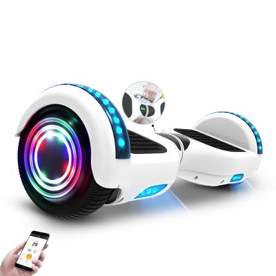 阿尔郎(AERLANG)智能平衡车儿童8-12双轮电动双轮扭扭车代步车X3C-D 白色