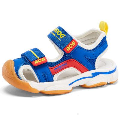 BOBDOG HOUSE巴布豆童鞋兒童涼鞋夏季男童女童寶寶3-7歲沙灘鞋6252