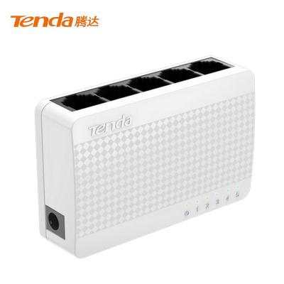 騰達(Tenda)S108 8口百兆交換機 家用宿舍交換器 監控網絡網線分線器 分流器 兼容攝像頭