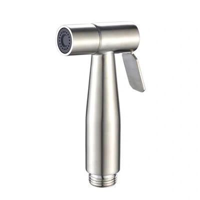 不銹鋼淋浴馬桶伴侶坐便器噴頭噴水沖洗器增壓婦洗器手持噴套裝 單噴槍