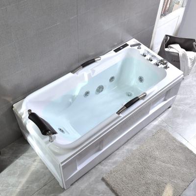 亞克力浴缸閃電客式按摩恒溫沖浪浴缸小戶型浴缸保溫成人家用浴缸