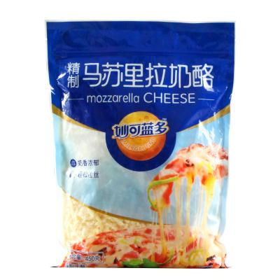 妙可藍多 馬蘇里拉奶酪芝士 起司焗飯 芝士碎拉絲披薩材料 譽見 烘焙原料 袋裝 450g