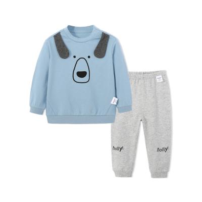 【1件5折】巴拉巴拉童装宝宝秋装男儿童套装男童婴儿衣服两件套潮装