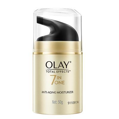 玉蘭油(OLAY)多效修護霜50g 日霜 保濕補水 新舊包裝隨機發貨