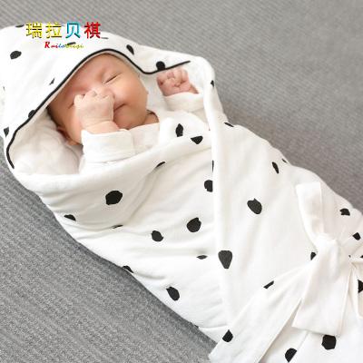新生兒包被純棉初生嬰兒抱被春秋冬加厚被子夏季薄款襁褓寶寶用品