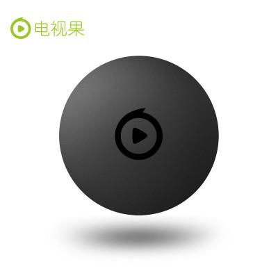 電視果3 愛奇藝智能網絡電視機頂盒第三代 曜石黑 手機投屏 蘋果安卓通用(內含愛奇藝VIP月卡)