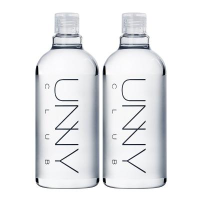 unny club 悠宜卸妝水500ml*2 面部眼唇卸妝液卸妝深層清潔溫和不刺激各種膚質 韓國進口