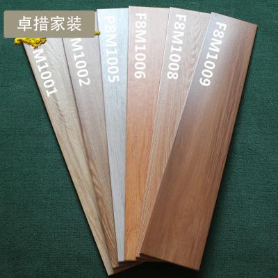 仿木纹瓷砖仿实木地砖150X800客厅卧室地砖仿古砖防滑耐磨地板砖壹德壹