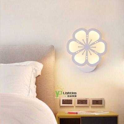 苏宁好货壁灯卧室床头客厅创意个性LED现代简约过道楼梯阳台酒店墙壁灯具聚兴新款