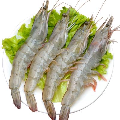 【進口大蝦!4斤僅79元】順豐空運 厄瓜多爾蝦 (80-110只) 原裝進口海鮮基圍蝦白蝦 生鮮(凈重2.8-3.2斤)