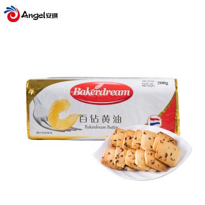 百鉆無鹽黃油500g進口食用動物性黃油家用煎牛排面包蛋糕烘焙原料