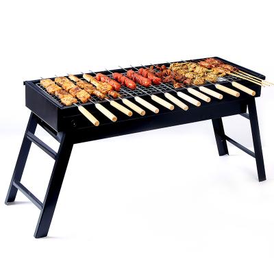 塔夫曼 烧烤炉折叠烧烤架家用木炭烧烤架子户外烧烤3-5人野外工具全套