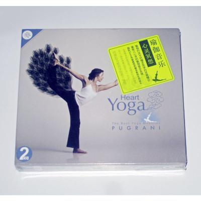 正版養身堂瑜珈音樂心靈冥想2CD舒緩放松療養輕音樂光盤碟片