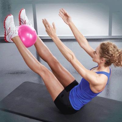 三梵 瑜伽球普拉提小球孕婦產后加厚防爆運動健身女25cm迷你瑜伽球瑜伽器材平衡球早教球