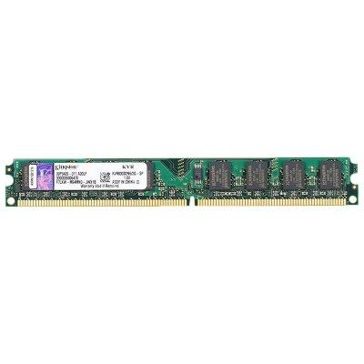 金士顿(kingston)2G DDR2 800 台式机内存条 KVR800D2N6/2G