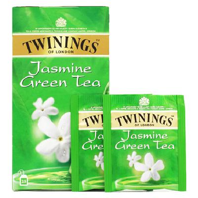 英國川寧(TWININGS) 茉莉花茶25包*2g 波蘭進口茶葉袋泡茶包