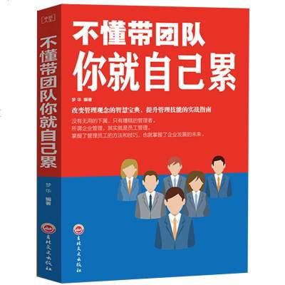 不懂帶團隊你就自己累 中層管理領導力 企業團隊管理書籍團隊溝通課程社交溝通技巧書籍