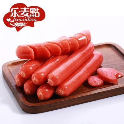 樂麥點熱狗腸烤腸50根原味香腸手抓餅冰凍肉腸燒烤烤腸
