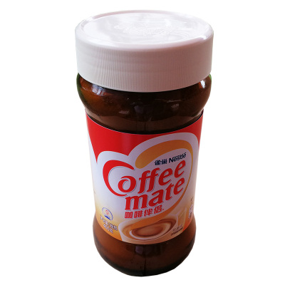 雀巢 咖啡伴侶400g瓶裝植脂末奶精速溶咖啡伴侶沖飲醇品 400g瓶裝