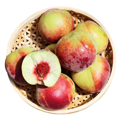匯爾康(HR) 新鮮冬桃2.5斤裝 離核脆桃子冬雪蜜桃水果甜晚桃鮮美多汁