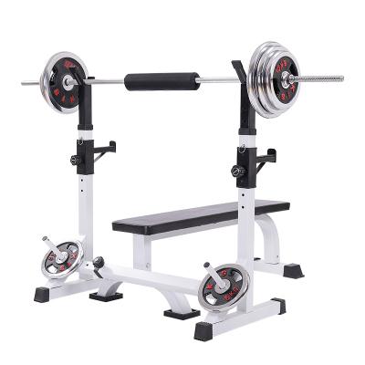 科瑞來家用健身舉重床臥推架深蹲架舉重架舉重床多功能健身器材*.*