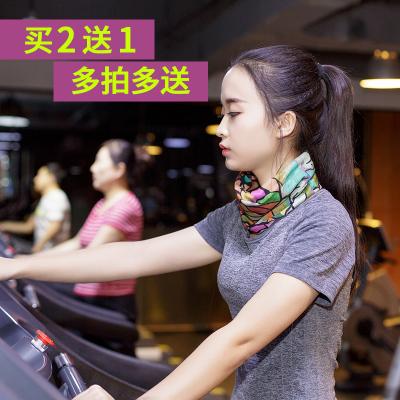 頭巾女男韓版潮嘻哈街舞運動戶外騎行車百變魔術方巾圍脖套面罩