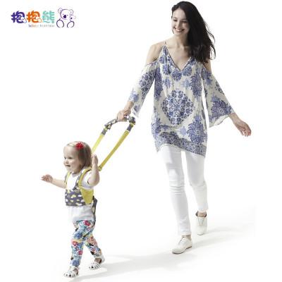 抱抱熊學步袋學步帶600F 嬰幼兒寶寶學步帶學走路夏季透氣嬰兒學步帶