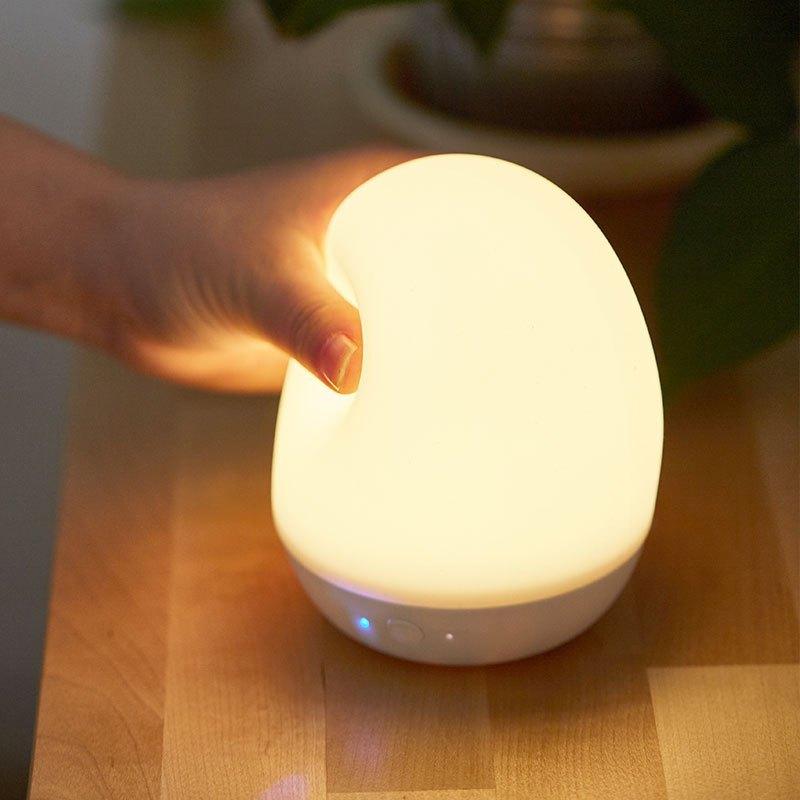 蘇寧極物硅膠定時小夜燈 白色LAMP002