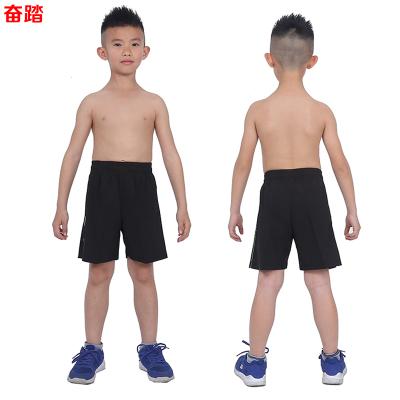 兒童短褲男夏運動褲夏季薄款寬松速干透氣跑步訓練短褲五分褲梭織
