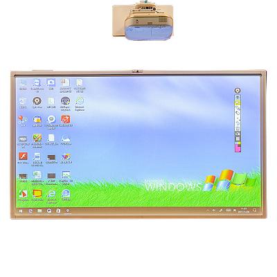 【套餐】NOMICO 90英寸触摸互动电子白板教学投影一体机E90-2B5G-6511-2112松下GW301C投影仪