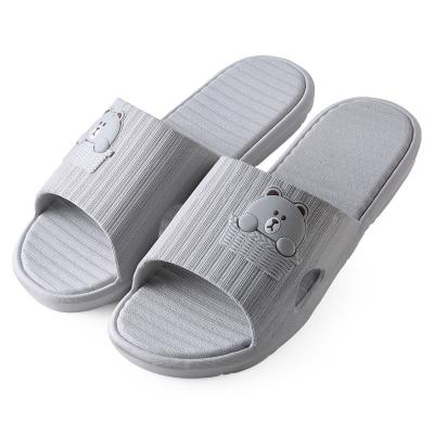樂拖卡通拖鞋男夏季居家用塑料軟底可愛室內家居浴室洗澡防滑拖鞋