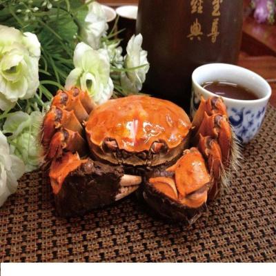 【驚喜預售】品味私廚 陽澄湖大閘蟹 蟹禮禮盒(公3.0兩+母2.0兩 3對)