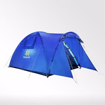 凱樂石(KAILAS)戶外帳篷野外露營多人帳篷雙層三季防雨防風3-4人星宇KT330005