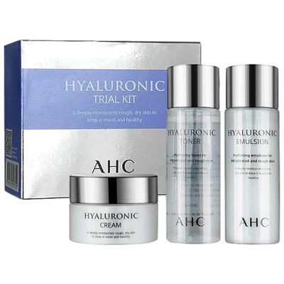 AHC 神仙水套盒 水乳面霜面護護膚套裝 70ml/盒 補水保濕 旅行裝中樣