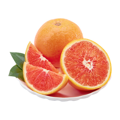果農富【2件起售】湖北中華紅橙 2.5斤中果 約8-11個 新鮮水果秭歸紅肉臍橙高山現摘榨汁甜橙手剝橙 湖北可發貨