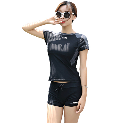 李寧分體泳衣女款多功能運動泳裝104