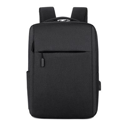 獅聞 電腦包雙肩包男女時尚背包防水學生潮書包商務包大容量行李包旅行包黑色