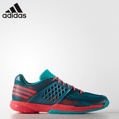 2019新品 阿迪達斯Adidas羽毛球鞋男鞋 男款專業AF4878透氣防滑多功能網羽運動鞋