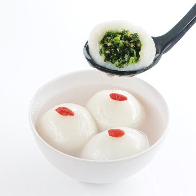好拾味 荠菜鲜肉大汤团 汤圆 元宵 500g*2