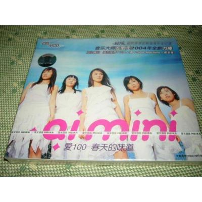 aimini 瓊瑤愛情館Ⅰ春天的味道 CD+VCD 美卡正版全新
