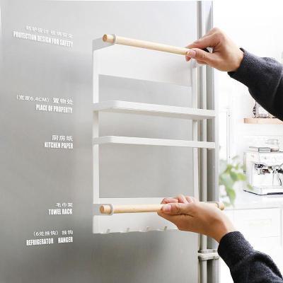 冰箱側掛磁吸置物架如華福祿廚房用品掛架 壁掛掛架收納神器收納架