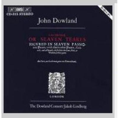 BISCD315 Dowland: Lachrimae,or Seaven Teares CD 正版
