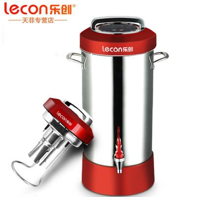 樂創(lecon) LC-D25H20 商用豆漿機 全自動豆漿機早餐店 渣漿分離 現磨無渣大容量大型早餐料理機加熱豆漿機