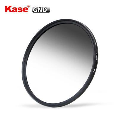 卡色(Kase) 77mm GND0.9減3檔 中灰漸變鏡 灰漸變超薄 軟漸變鏡 GND漸變灰鏡UV鏡 濾鏡 鏡頭保護鏡